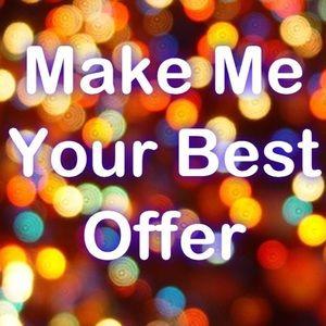 I always appreciate offers
